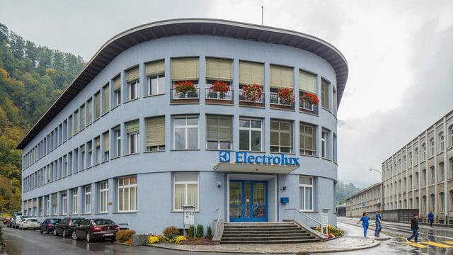 Werk von Electrolux in Schwanden
