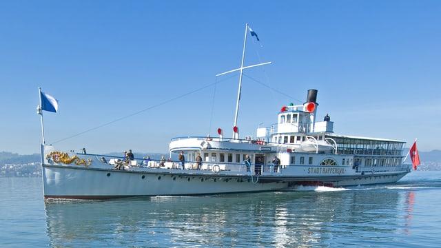 Historisches Dampfschiff