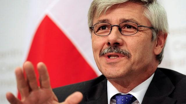Der Basler Gesundheitsdirektor Carlo Conti