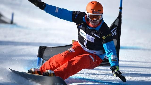 Kaspar Flütsch fuhr in Sotschi auf Rang 4.