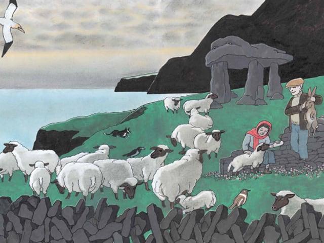 Illustration aus Tomi Ungerers «Der Nebelmann»