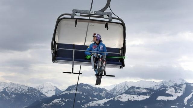 Memia pauca naiv per organisar cursas da skis.