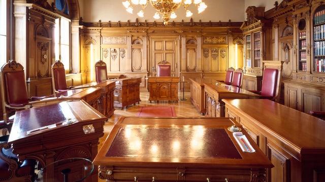 Sitzungszimmer des Bundesrats