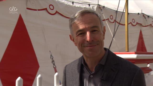 Video ««G&G Spezial»: Dani Fohrler zu Besuch bei der Zirkusfamilie Knie» abspielen