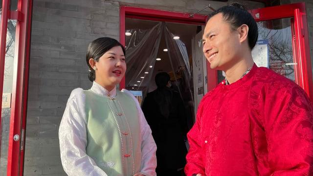 Frau Cang Xi, Mann Cai Zehong