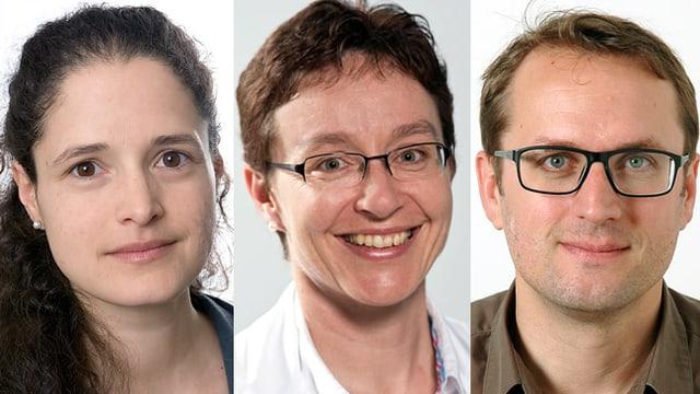 Dr. Damian Bühler, Dr. Uwe Hauswirth und Dr. Martin Theiler
