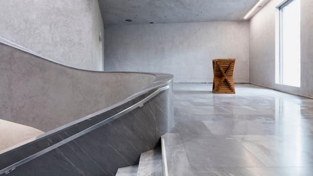 Ein Bild des Neubaus des Kunstmuseum Basel.