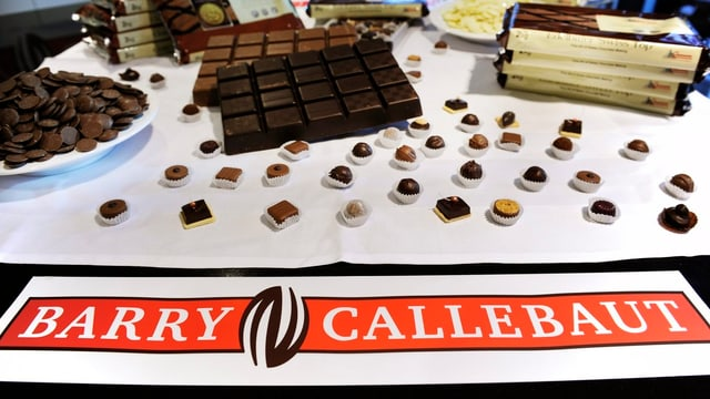 Logo da Barry Callebaut.