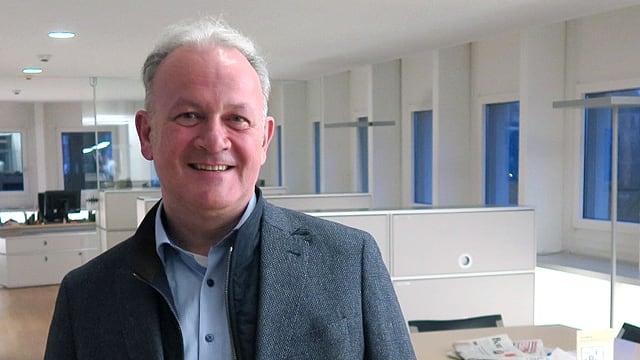 Porträt des Nidwaldner Politikers Joe Christen.