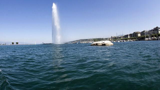 Jet d'eau in Genf. (keystone)