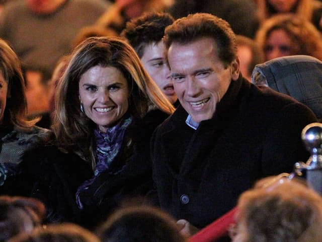 Arnold Schwarzenegger und Frau Maria Shriver