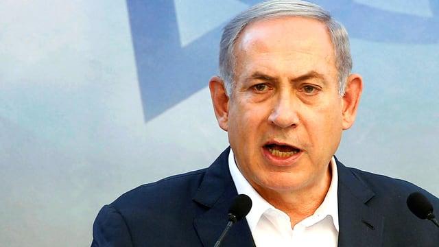 Israels Ministerpräsidenten Benjamin Netanjahu.