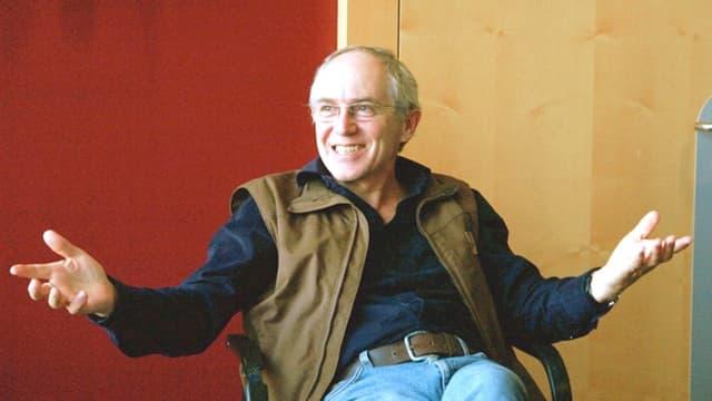 Autor und Regisseur Geri Dillier aus Obwalden.