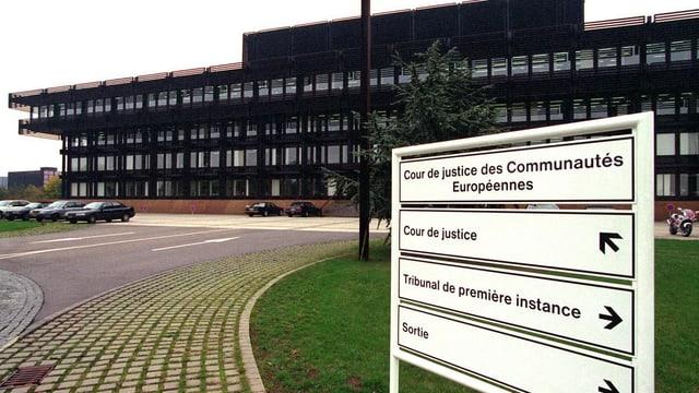 Der Europäische Gerichtshof (EuGH).