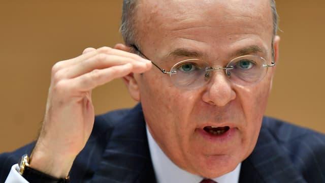 Portrait von Mario Greco, Chef der Versicherung Zurich.