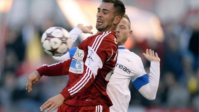 Der FC Baden kämpft um einen Aufstiegsplatz und Zofingen gegen den Abstieg. Im Bild: Goran Antic vom FC Baden.