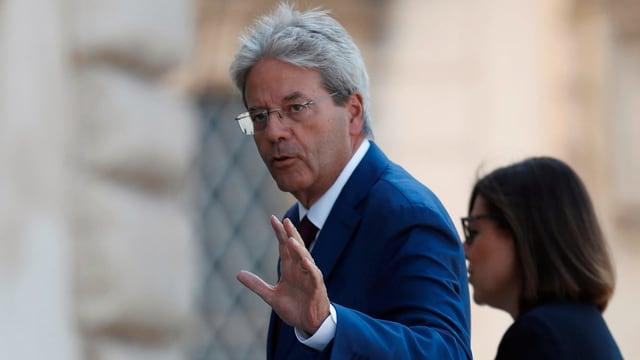 Der frühere Ministerpräsident und wahrscheinliche neue EU-Kommissar Paolo Gentiloni