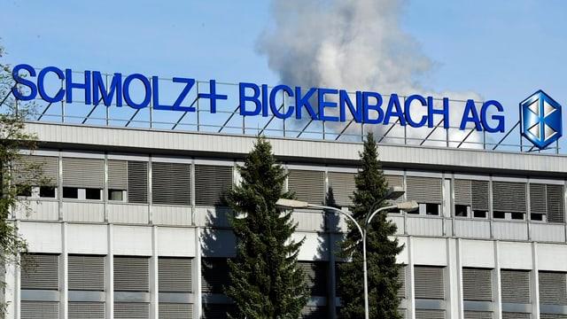 Gebäude von Schmolz+Bickenbach - Aussensicht