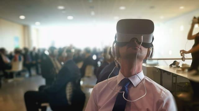 Fotografia da Reto Crameri cun uregliers virtuals