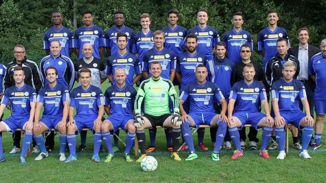 Die 1. Mannschaft des FC Concordia.
