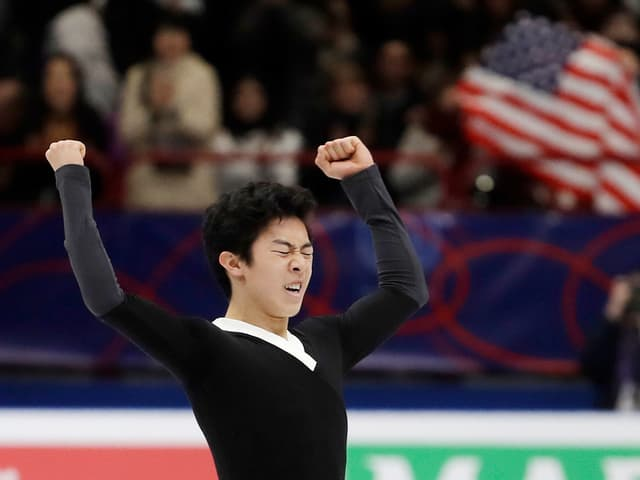Der Amerikaner Nathan Chen.