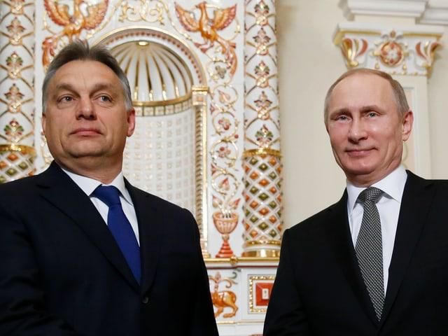 Orban und Putin