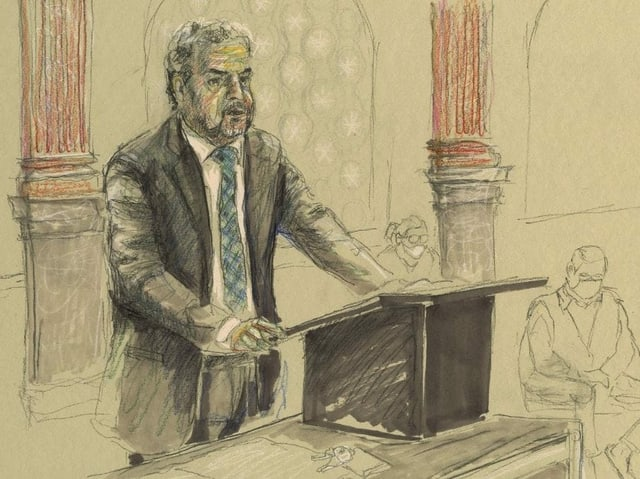 Zeichnung Staatsanwalt.