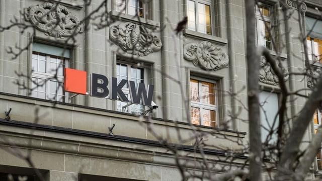 Schild BKW: