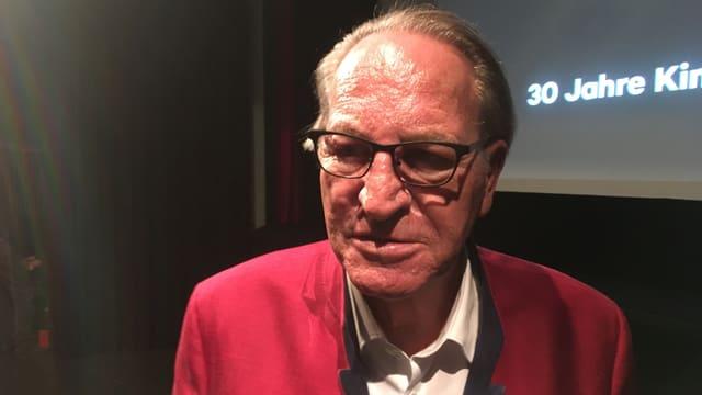 Oscar Prevost sustegna l'uniun Kino Rätia finanzialmain.