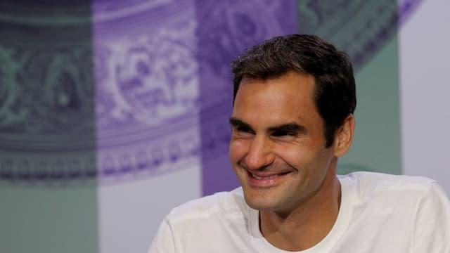 Roger Federer da buna luna.