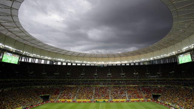 Das Stadion in der Hauptstadt Brasilia.