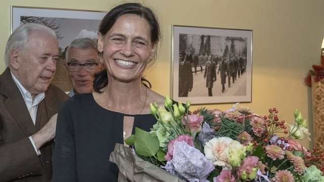 Die Obwaldner Politikerin Monika Rüegger.