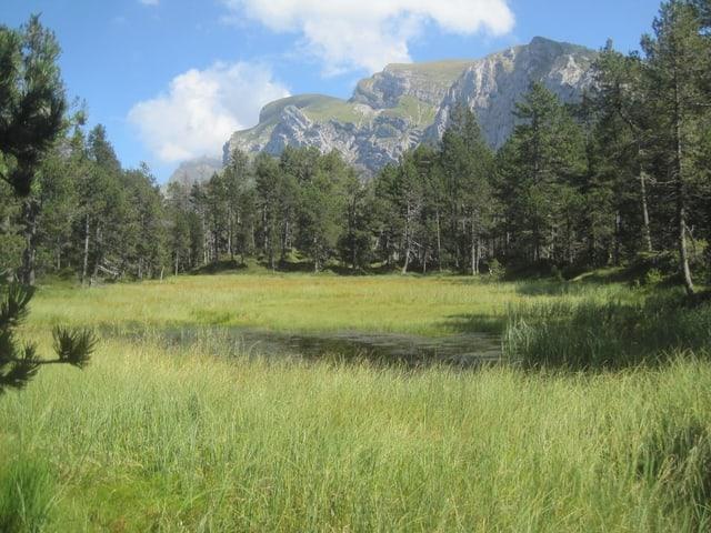 Ein Bergsee.