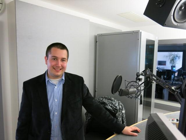 Anian Liebrand ist an der Spitze der Jungen SVP Schweiz.