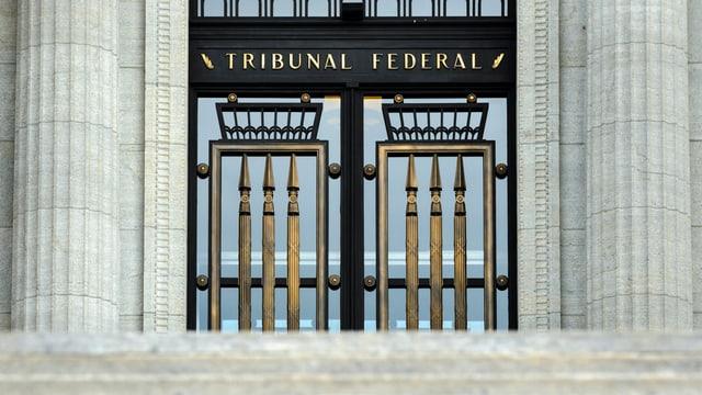 Eingang zum Bundesgericht