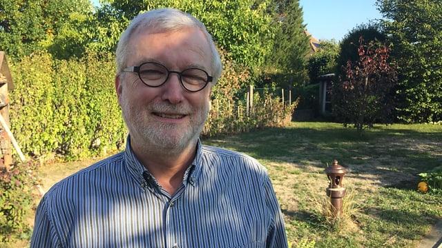 Portrait von Bruno Wollenschneider.
