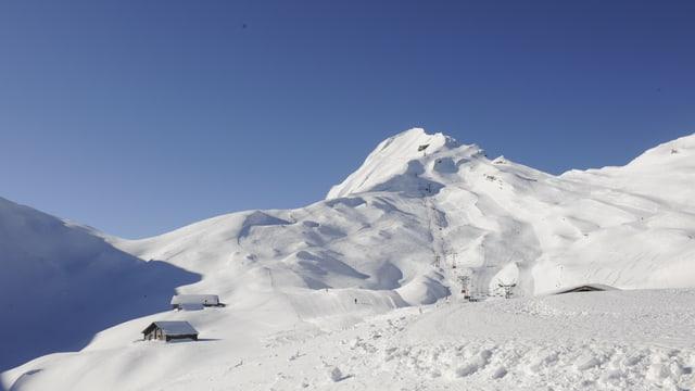 Skigebiet Rothorn bei Sörenberg.