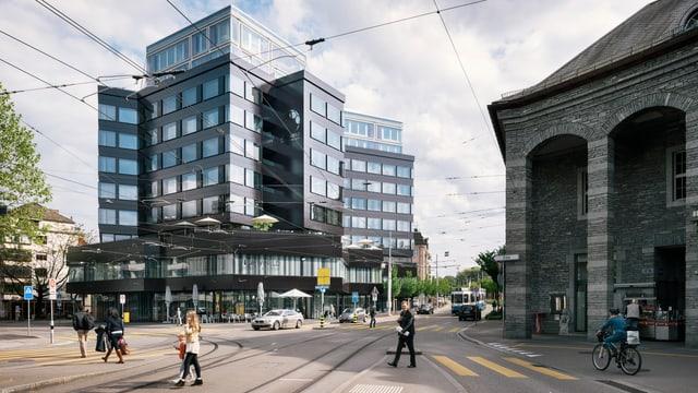 Das Museum des Weltfussballverbands Fifa liegt direkt neben dem Bahnhof Enge in Zürich.