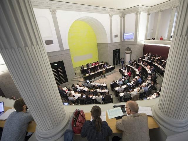Blick ins Luzerner Kantonsparlament