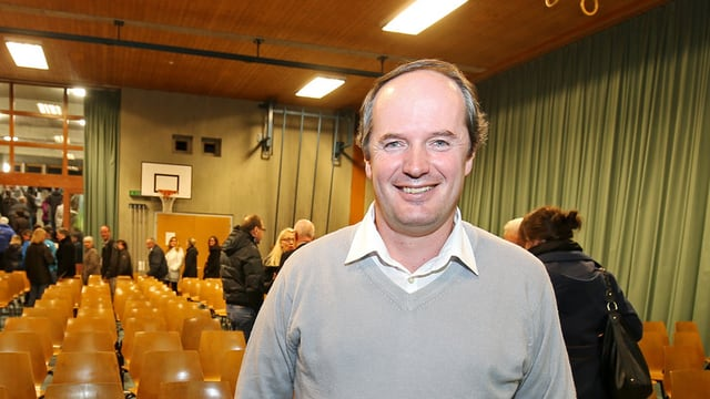 Stefan Schmid, il president communal da Val S. Pieder.