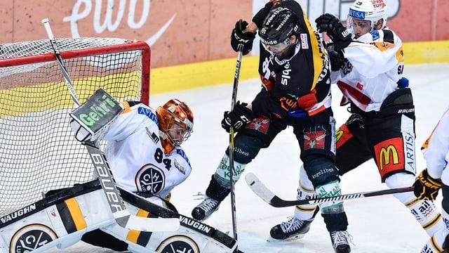 Lugano liegt 1:3 zurück in der Serie