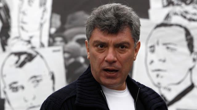 Porträt von Boris Nemzow.