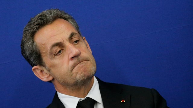 L'anteriur president franzos Nicolas Sarkozy.