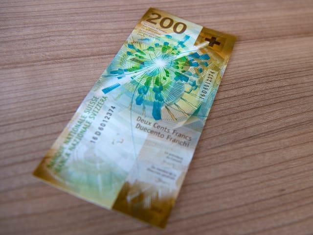 La nova bancnota da 200 francs.