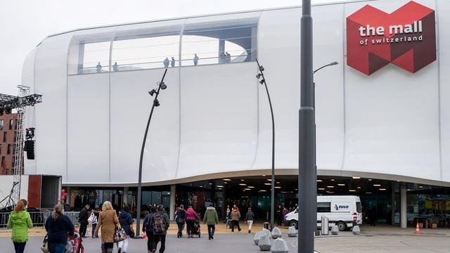 Einkaufszentrum Mall of Switzerland in Ebikon.