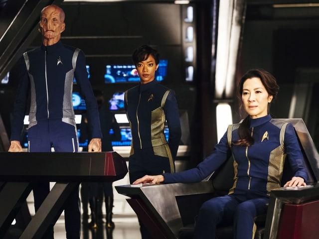 «Star Trek: Discovery»: Ab 25. September bei Netflix.