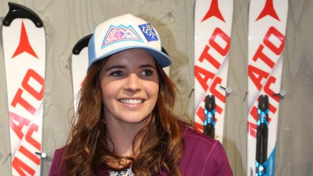 Die Liechtensteinerin Tina Weirather.
