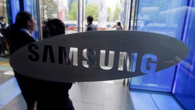 Il logo da Samsung.