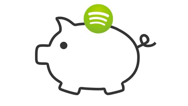 Mehr als die Hälfte der Spotify-User haben einen Gratis-Account.