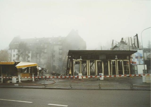 Ruinen nach de mBrand